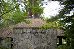 The Father Marquette Pavilion at Straits State Park